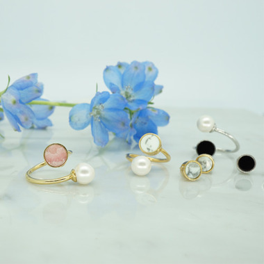 flower open ring